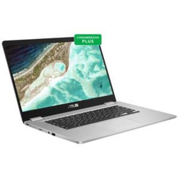 "Ordinateur Portable ASUS Chromebook C523NA-A20072 - 15,6"" FHD Tactile - Celeron N3350 - RAM 4Go - Stockage 64Go - Chrome OS - AZERTY offre à 386,99€"