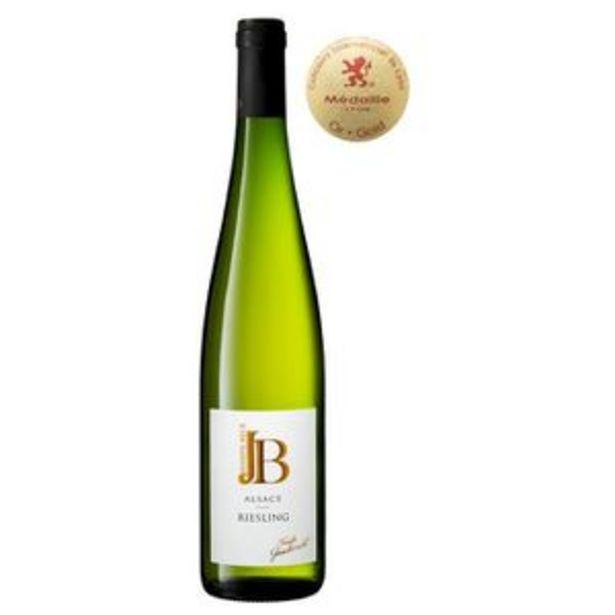 JOSEPH BECK 2019 Alsace Riesling - Vin blanc d'Alsace offre à 7,05€