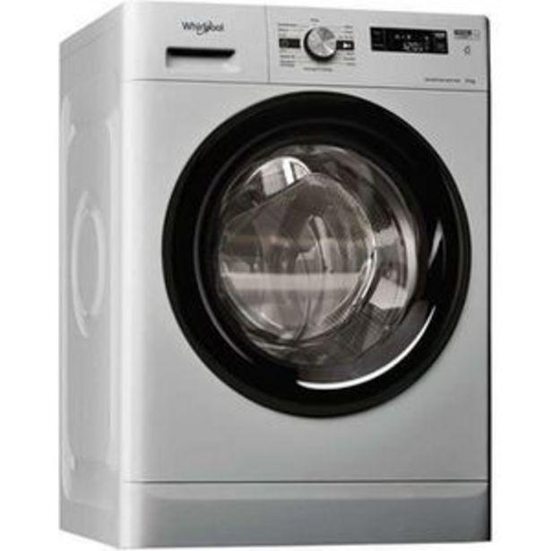 Lave-linge hublot WHIRLPOOL FFS9248SBFR Freshcare - 9 kg - 1200 trs/min - Silver offre à 369,99€