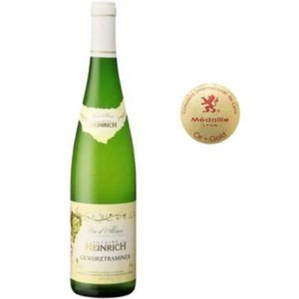 Heinrich - Gewurztraminer - Vin blanc d'Alsace offre à 6,81€