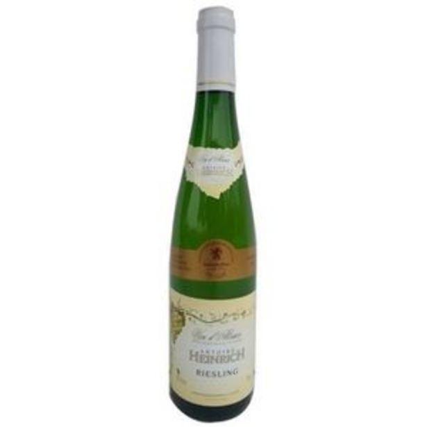 Heinrich Riesling  - Vin blanc d'Alsace offre à 5,39€