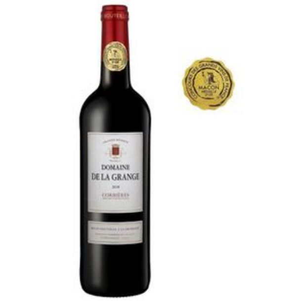 Domaine de la Grange 2018 Corbières - Vin rouge du Languedoc Roussillon offre à 3,99€