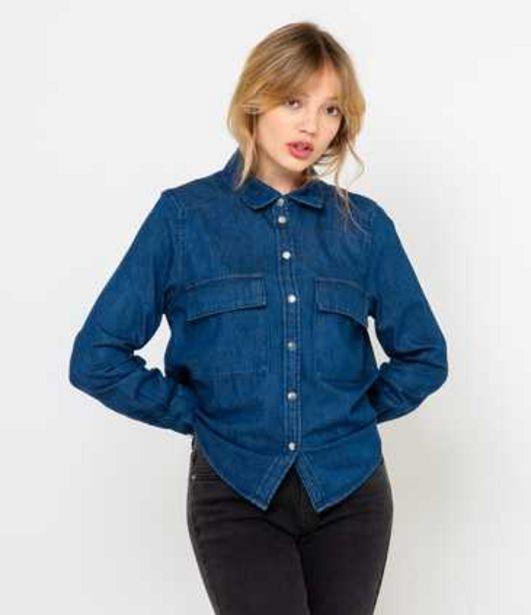 Chemise en jean femme offre à 25,99€