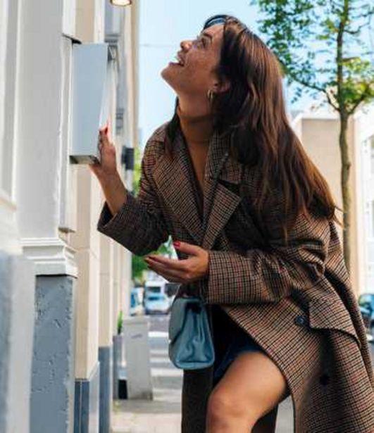 Manteau à carreaux femme offre à 69,99€