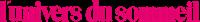 logo L'univers du sommeil